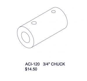 ACI-120 3/4'' CHUCK