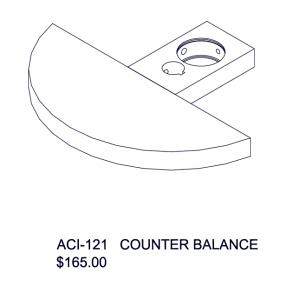 ACI - 121 Counter Balance