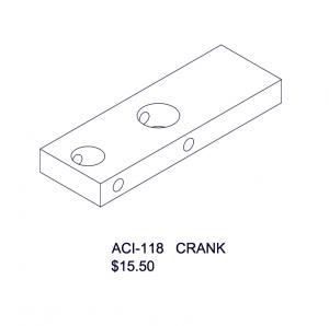 ACI-118 Crank