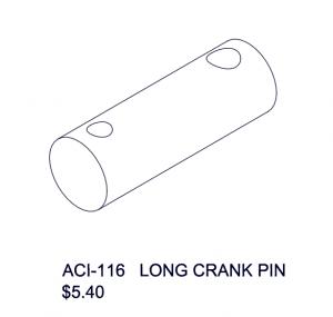ACI-116 Long Crank Pin