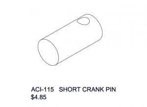 ACI-115 Short Crank Pin