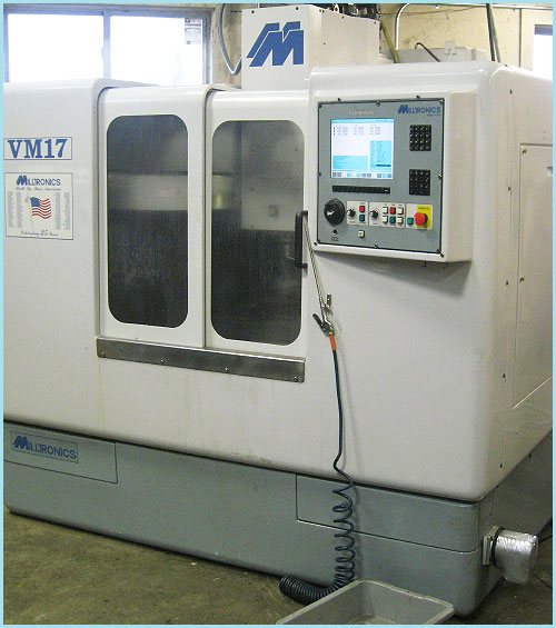 CNC Vertical Milling Machine-HoltWoodMachine