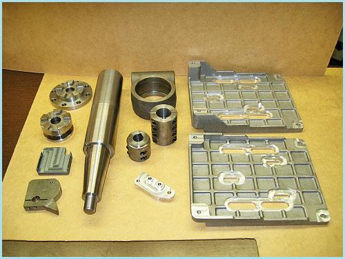CNC Machining Part Samples HoltWoodMachine