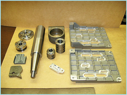 CNC Machining Part Samples-HoltWoodMachine