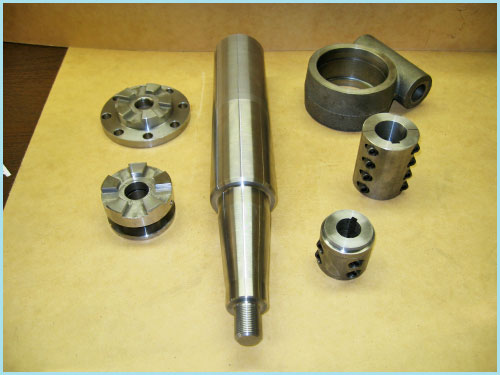 CNC Turning Part Samples HoltWoodMachine